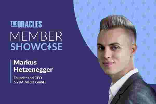 How 23-Year-Old Markus Hetzenegger Started a Digital Company That 'Generates Nine-Figure Revenues for Customers'